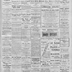 Hereford Journal - 21st November 1914