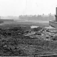 Bootle, site of section of Southport Road before construction, 1930s