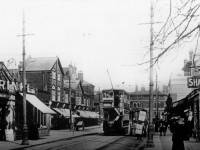 Worple Road: Looking towards the Alexandra Pub