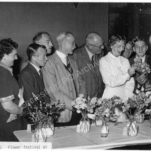Flower Festival  Mount Pleasant 1956