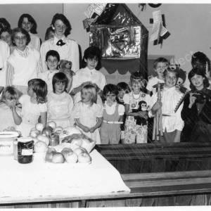 Warren Methodist Church Harvest Gift Service October 1986