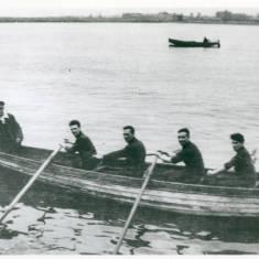 Crew of Moffat Rowing Boat