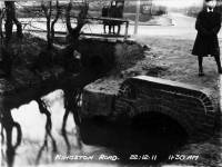 Kingston Road: Looking east towards Merton Rush