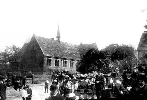 Gathering near the Cross