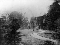 Dorset Hall, Merton Park: Rear view