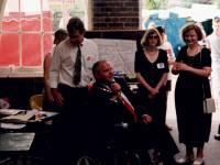 Mayor Slim Flegg, open the Merton Abbey Mills Craft market