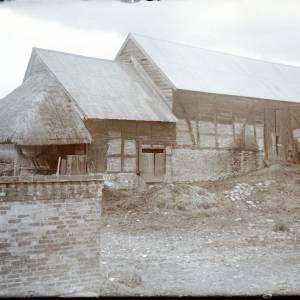 Aylton Court Farm, exterior, 1912