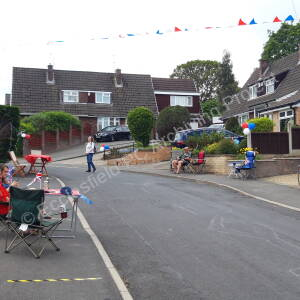 Mackenzie Crescent - 75th Anniversary V.E Day Street Party
