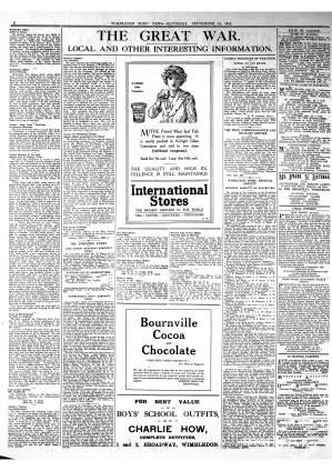 14 SEPTEMBER 1918