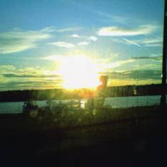 Sunset at the Ferry Landing