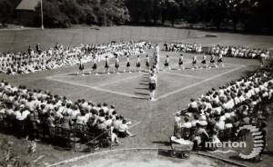 Wimbledon County School for Girls: Marching Competition