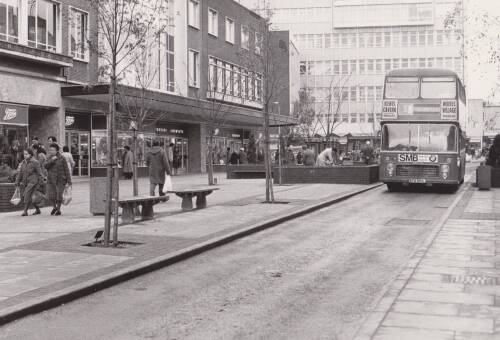 Exeter High Street, photograph, 1979, Exeter