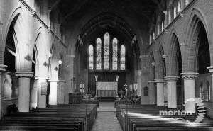 Interior of St. Mark's Church, Mitcham
