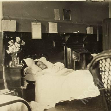 Patient Klorberg (or Kloberg), Highland Light Infantry, Ward Z8
