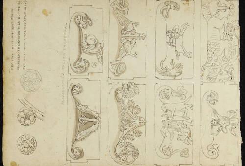 Page 1 of sketchbook 3