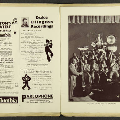 Duke Ellington Orchestra British Tour – July 1933 003