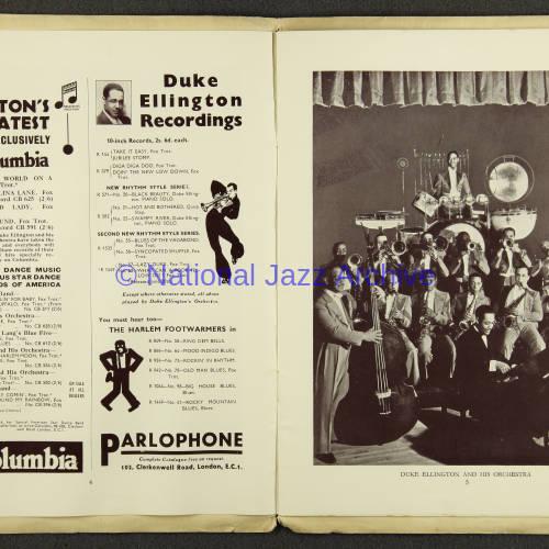 Duke Ellington Orchestra British Tour – July 1933 003