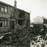 Carisbrooke Road, bomb damage, Blitz
