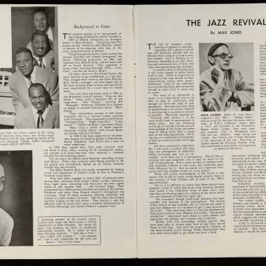 Jazz Illustrated Vol.1 No.1 November 1949 0004