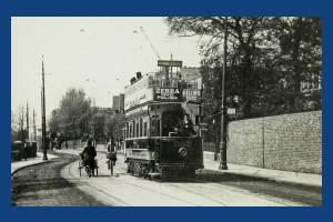 Worple Road, Wimbledon: Tram