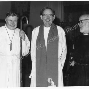 St John's Church Chapeltown Clergy 1980s