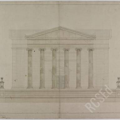 William Playfair Architectural Plans of the Royal College of Surgeons of Edinburgh,1829-1832