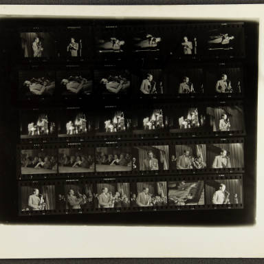 Butlins Jazz Weekend 1956 Contact sheet 005