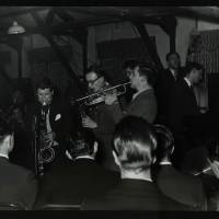 Tubby Hayes, Derek Humble and Jimmy Deuchar (left to right)