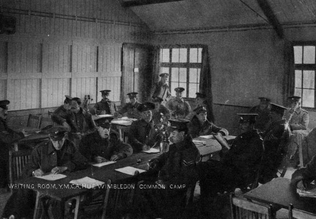 Writing Room, Army Camp, Wimbledon Common