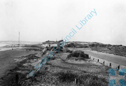 Coast erosion, Blundellsands