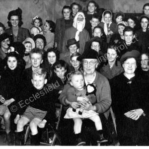 Grenoside British Legion Christmas Party c1950 h