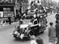 Coronation Celebrations: Procession down London Road, Mitcham
