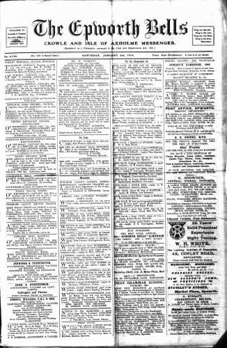 Epworth Bells, The - Jan 1914