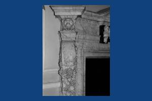 Cannizaro House, Wimbledon: Marble fire surround