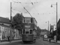 A Wimbledon Tram on Merton Road