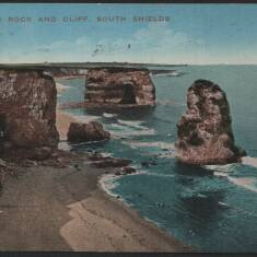 Marsden Rock and Cliff, South Shields