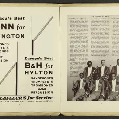 Duke Ellington Orchestra British Tour – July 1933 004