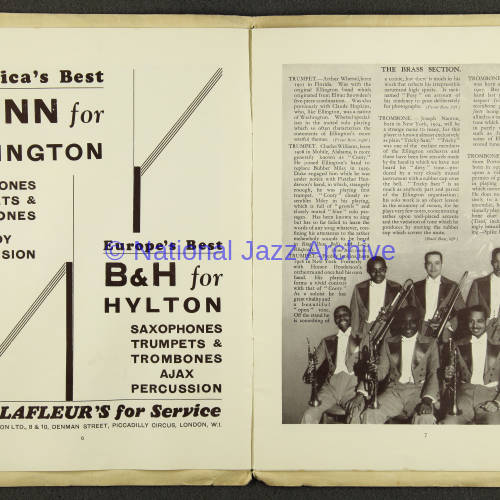 Duke Ellington Orchestra British Tour – July 1933 004