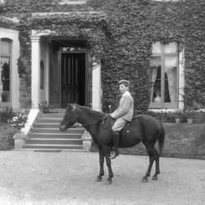 G36-223-07 Brian Hatton sitting on pony outside Mount Craig, Broomy Hill .jpg