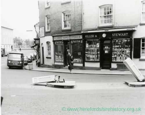 Bridge Street Stores >> Corner Of King Street And Bridge Street Hereford Showing