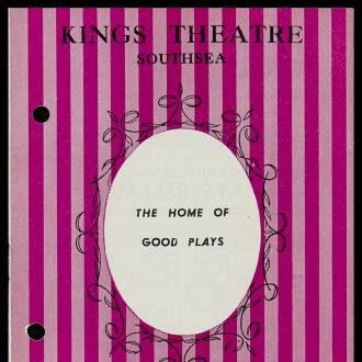 King's Theatre, Southsea, June 1964 - P01