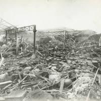 Carolina Street, Canal Wharfage Company, bomb damage, Blitz