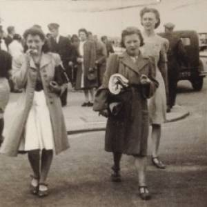 Dorothy Knight (nee Sparrow) - day out in Rhyl