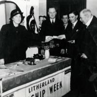 Lord Derby Visting Litherland in Warship Week