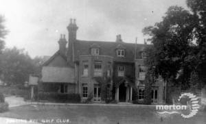 Tooting Bec Golf Club, South Lodge, Mitcham