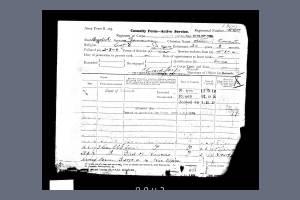 Service Record - Albert Ernest Janaway