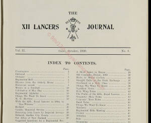 12th Lancers, 1930 October