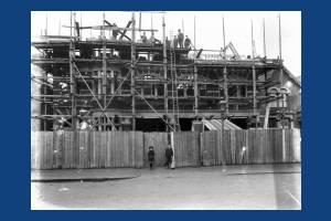 Wimbledon Fire Station under constructrion