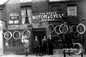 Grove Motor Cycle Works: Merton High Street, No. 141