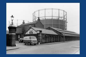 Gas Works, Western Road, Mitcham